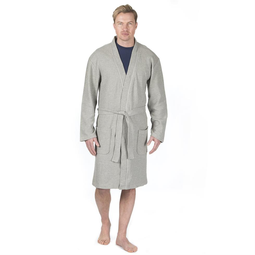 Mens Pierre Roché Waffle Dressing Gown Stc Stores