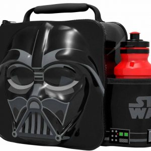 3D Darth Vader Lunch Bag with Bottle