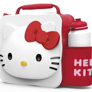 3D Hello Kitty Lunch Bag with Bottle