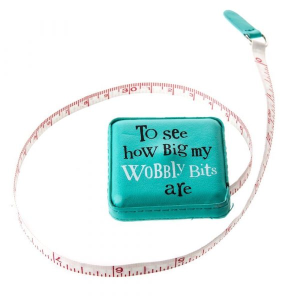Bright Side Wobbly Bits Tape Measure