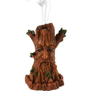 Green Man Incense Cone Holder