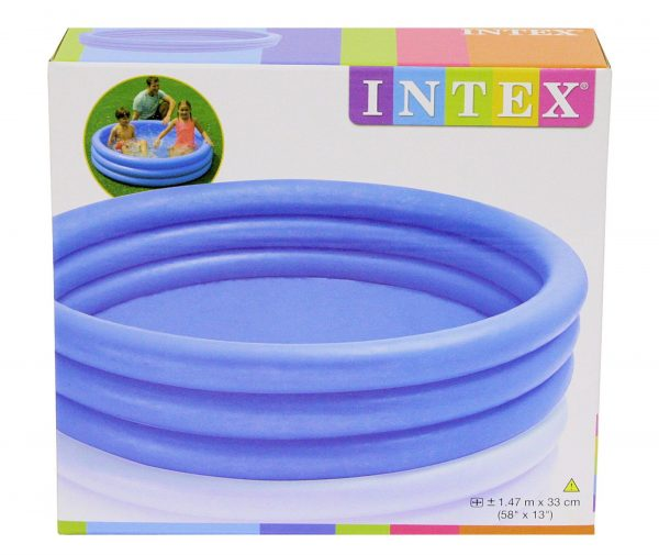 Intex 3 Ring Crystal Blue Pool