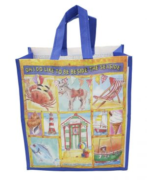 Oh I Do Like to Be Beside the Seaside Shopping Bag