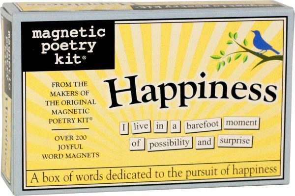 Magnetic Poetry HAPPINESS