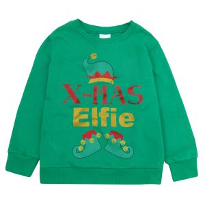 Childrens Christmas Jumper Long Sleeved Top
