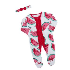 Babies Watermelon Sleeper Set