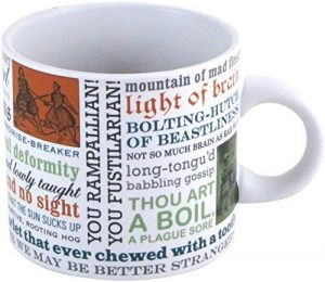 Shakespeare Insults Mug