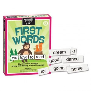 Magnetic Poetry FIRST WORDS