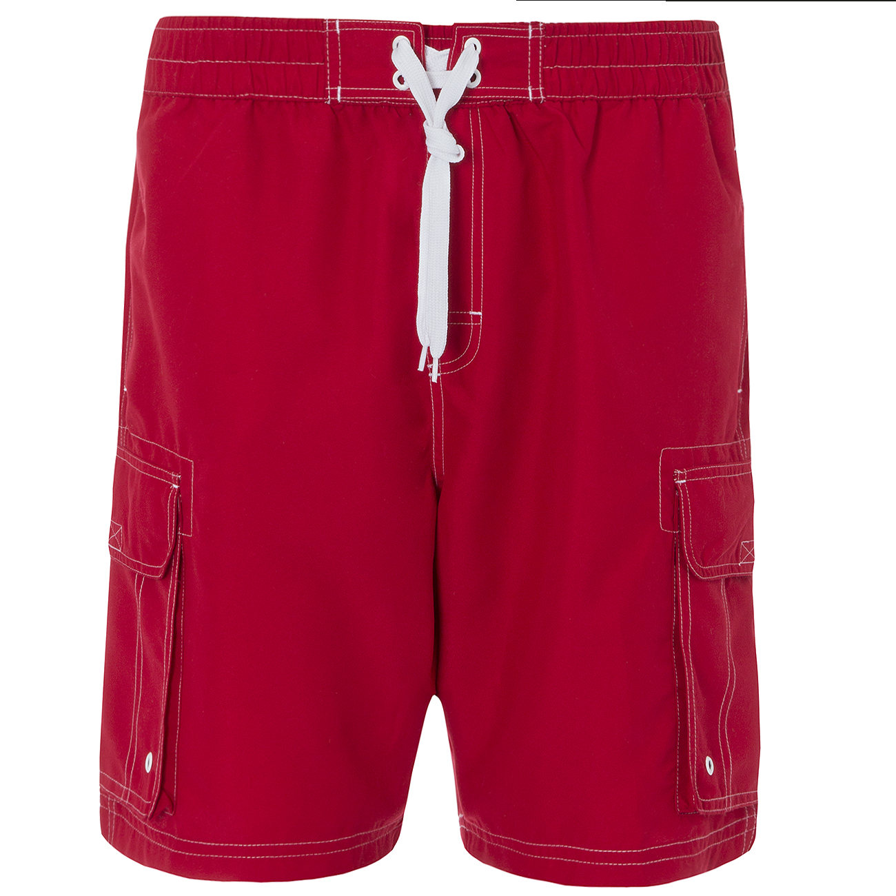 Mens Cargo Bay Plain Swim Shorts