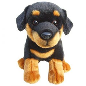 Plush Dog ROTTWEILER