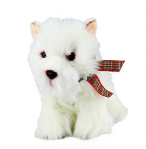 Plush Dog WEST HIGHLAND TERRIER