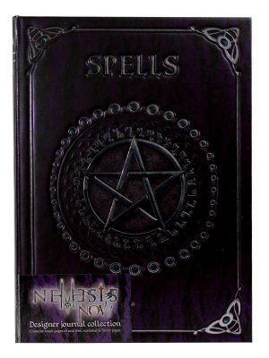 Embossed Journal Spells