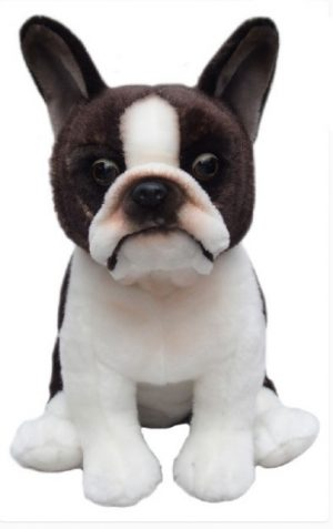 Plush Dog BOSTON TERRIER