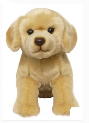 Plush Dog YELLOW LABRADOR