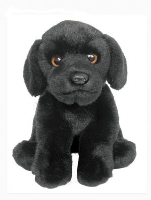 Plush Dog BLACK LABRADOR