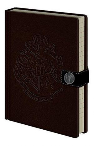 A5 Harry Potter Hogwarts Crest Notebook