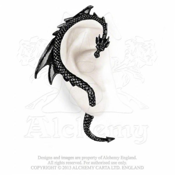 Alchemy Pewter Ear Wrap Dragons Lure