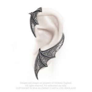 Alchemy Pewter Ear Wrap A Night with Goethe