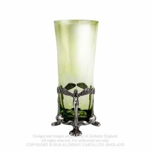 Pewter and Glass La Fee Verte Tumbler