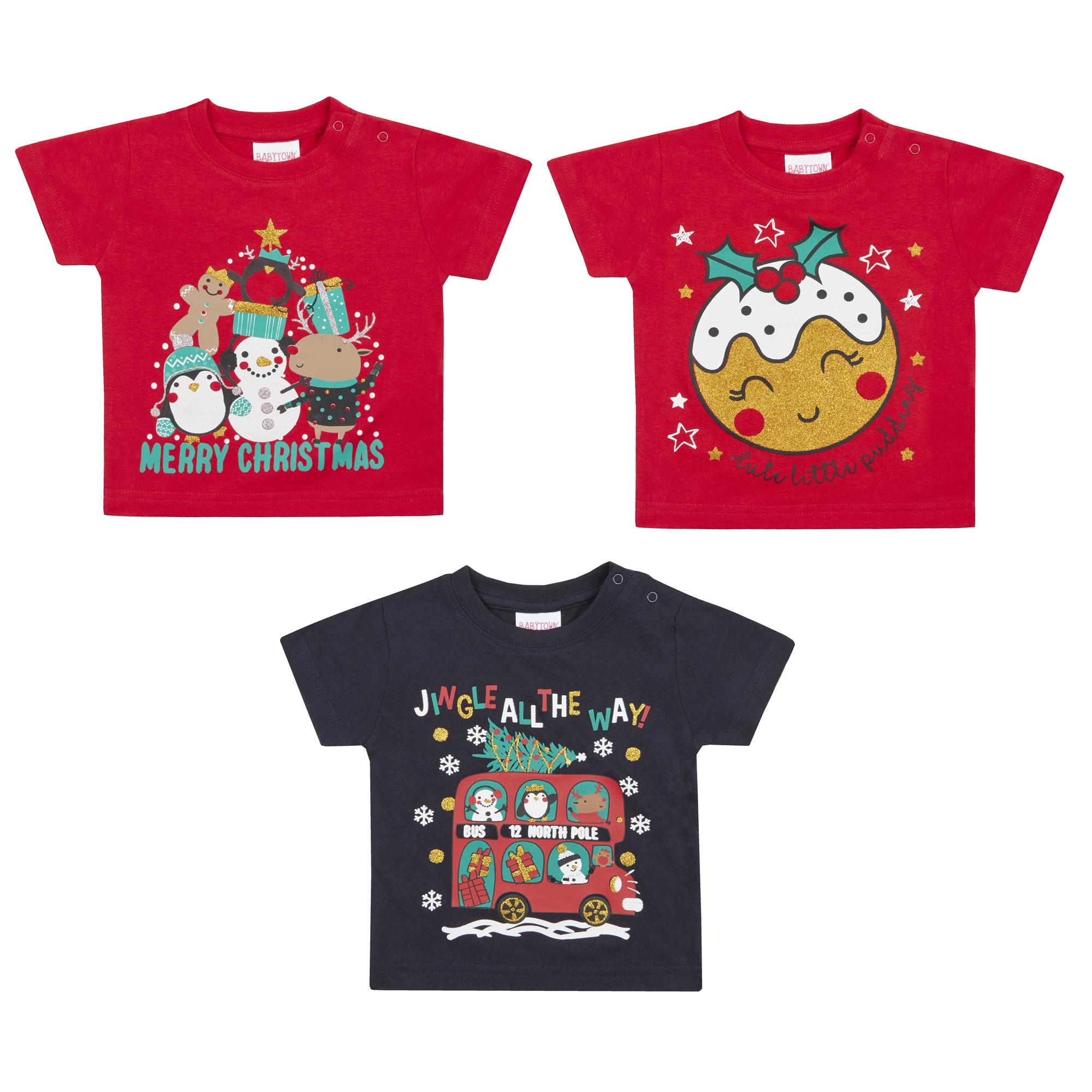 Babies Novelty Christmas T Shirts Stc Stores