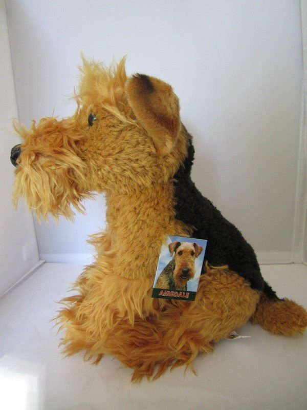 Plush Dog AIREDALE
