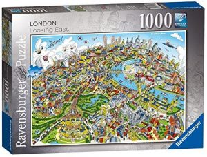 London Looking East 1000pc Jigsaw Puzzle
