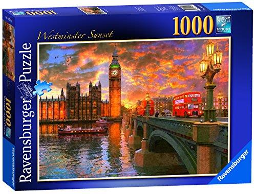 Westminster Sunset London 1000pc Jigsaw Puzzle