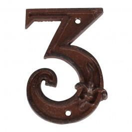 Cast Iron House Number