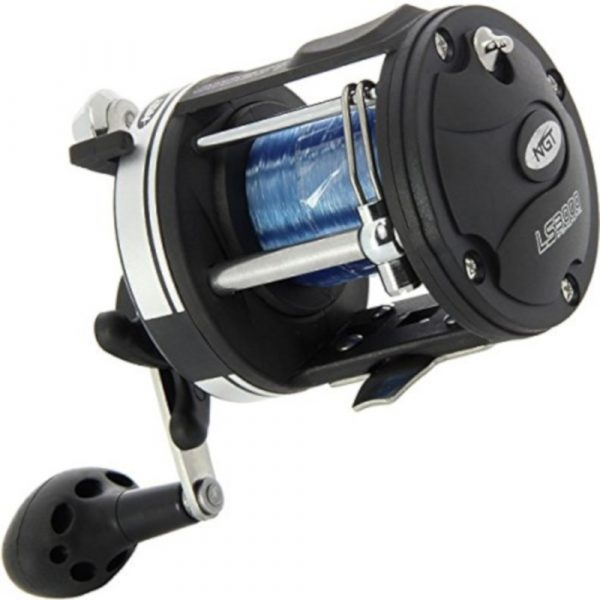 NGT LS3000 MULTIPLIER REEL WITH 25lb SPOOLED LINE