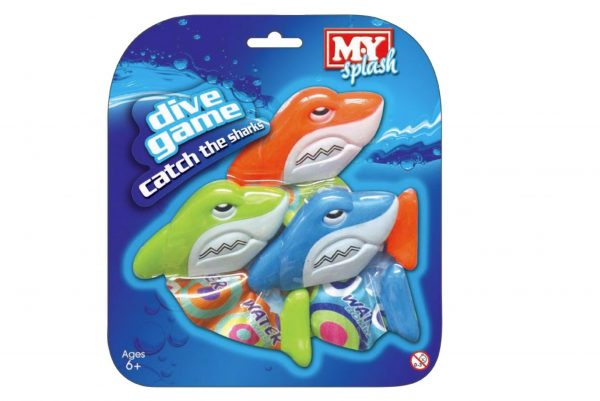 Catch The Shark Dive Game 3 Pack