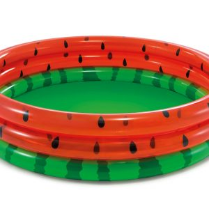 Inflatable Three Ring Watermelon Pool