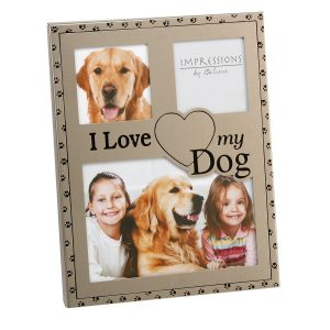 I Love My Dog Photo Frame