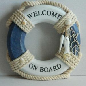 Welcome On Board Ornament