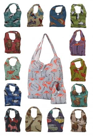 Eco Chic Foldable Shopper Bag