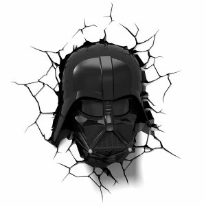 Darth Vader 3D Wall Light