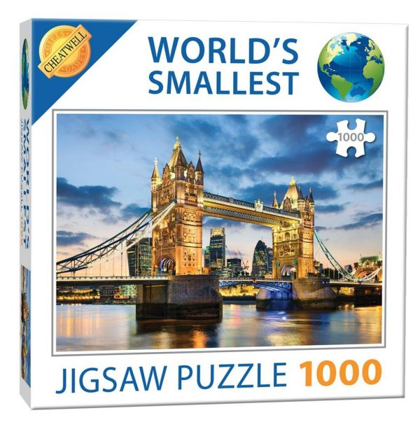 World's Smallest 1000 Piece Puzzle Tower Bridge