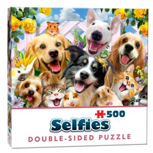 Double Sided Selfie Puzzle Buddies