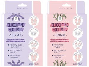 Detoxifying Foot Pads with Bamboo Extracts