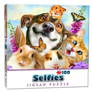 Cheatwell Games Mini Selfie Puzzle Pets