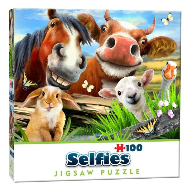 Cheatwell Games Mini Selfie Puzzle Farmyard