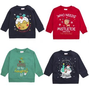 Babies Christmas Design Jumper