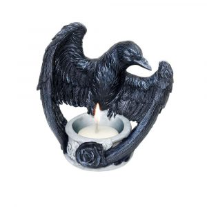 Raven's Ward Tea Light Candle Holder