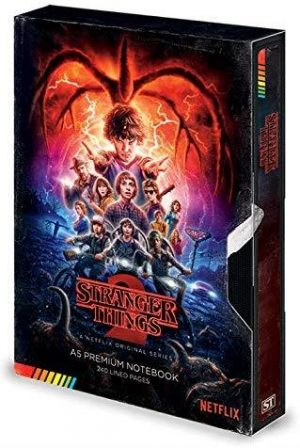 Stranger Things VHS Season Two A5 Premium Notebook