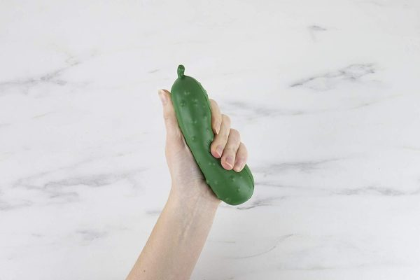 Stress Pickle Squeeze Toy