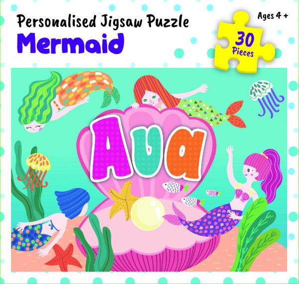 Personalised Jigsaw Puzzle Ava