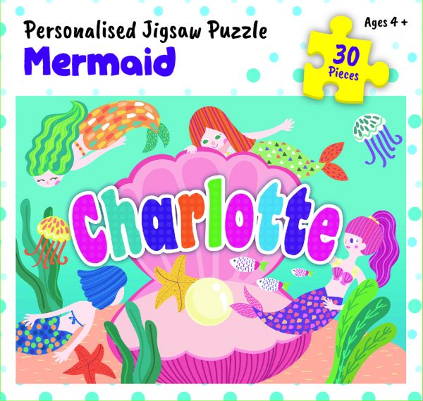 Personalised Jigsaw Puzzle Charlotte