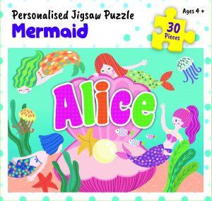 Personalised Jigsaw Puzzle Alice