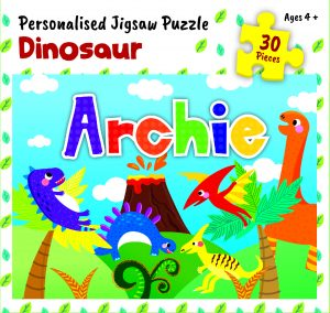 Personalised Jigsaw Puzzle Archie