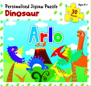 Personalised Jigsaw Puzzle Arlo
