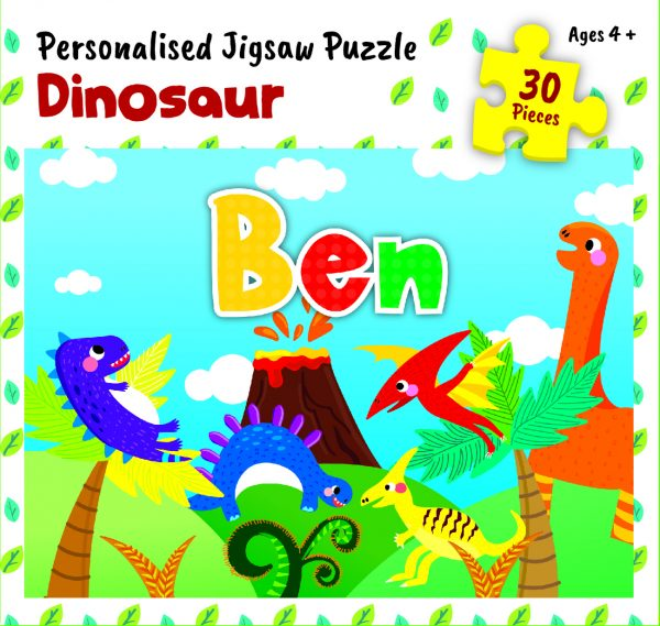 Personalised Jigsaw Puzzle Ben